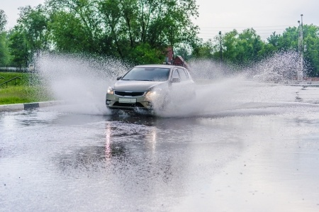 Avoid Driving Through Standing Water Burlington