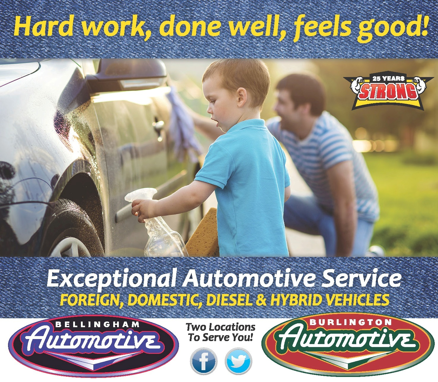Hard Work Done Right Pays Off Burlington Automotive