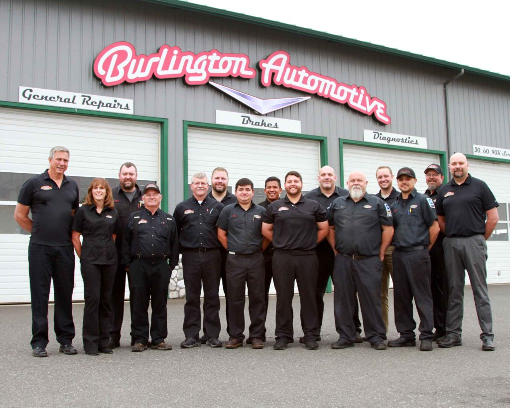 Burlington Automotive Staff